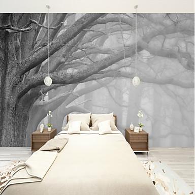 povoljno Zidne tapete-tapeta / Mural Platno Zidnih obloga - Ljepila potrebna Copaci / Frunze / Art Deco / 3D