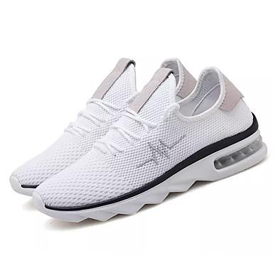 9cde25922c1 Ανδρικά Παπούτσια άνεσης Δίχτυ / Ελαστικό ύφασμα Φθινόπωρο Αθλητικά  Παπούτσια Συνδυασμός Χρωμάτων Λευκό / Μαύρο και Χρυσό / Μαύρο / Κόκκινο /  Αθλητικό ...