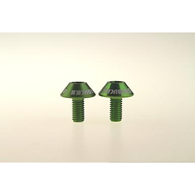billige Sykkeltilbehør-ASIR® Sykkel Water Bottle Cage Skruer Ikke-formbar Ultra Lett (UL) Slitasje-sikker låsing Security Stabilitet Til Sykling Fjellsykkel Veisykling Foldesykkel Fritidssykling Sykkel med fast gir