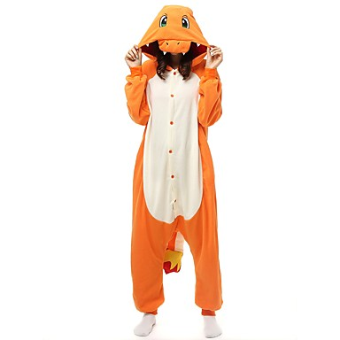 cdb7d2416c Adults  Kigurumi Pajamas Cartoon Onesie Pajamas Polar Fleece Yellow Cosplay  For Men and Women Animal Sleepwear Cartoon Festival   Holiday Costumes  6891545 ...