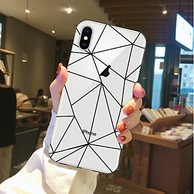 povoljno iPhone maske-Θήκη Za Apple iPhone X / iPhone 8 Plus / iPhone 8 Prozirno / Uzorak Stražnja maska Hrana / Voće Mekano TPU