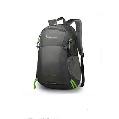 a3384436c2 Mountaintop® Hiking Backpack 25 L - Lightweight Rain Waterproof  Breathability Outdoor Hiking Camping Fitness 100g   m2 Polyester Knit  Stretch Black Grey ...