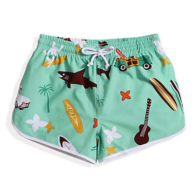 5ae12f6b1c [$30.89] Women's Swim Shorts Swim Trunks Elastane Board Shorts Bottoms  Quick Dry Drawstring - Surfing Beach Watersports Floral / Botanical Animal  Tree ...