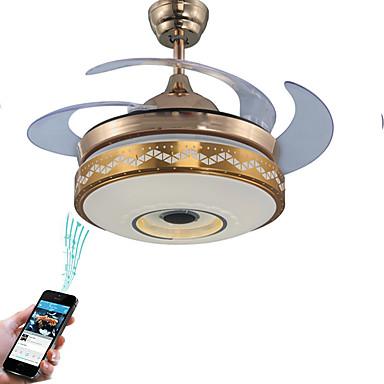 Ecolight Geometric Novelty Ceiling Fan Ambient Light