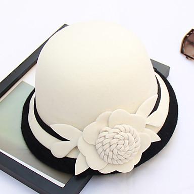 povoljno Party pokrivala za glavu-Ostali materijal kape s Cvijet 1pc Vjenčanje / Zabava / večer Glava