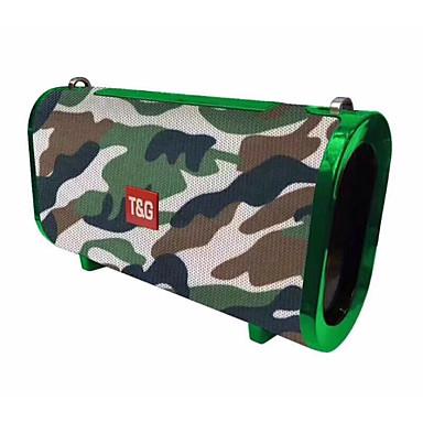 preiswerte Elektronische Produkte-TG123 Speaker 4.2 Micro-USB Lautsprecher für Regale Rot / Blau / Tarnfarbe
