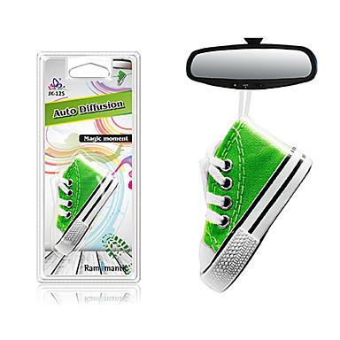 voordelige Auto-interieur accessoires-Rammantic Auto-luchtreinigers Standaard / Decoratie Auto parfum Polyesteri / Olie Verwijder ongebruikelijke geur / Aromatische functie