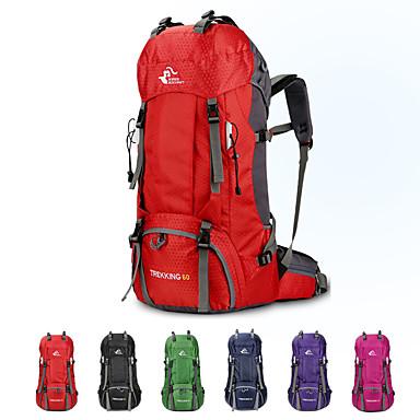 9ae5a824ed Ruksaci Ruksak Unutarnji ruksak za okvir 60 L - Mala težina Otporno na kišu  Otpornost na habanje Visok kapacitet Vanjski Pješačenje Kampiranje  Putovanje ...