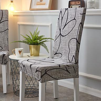 preiswerte Kostenloser Versand-Stuhlabdeckung Mehrfarbig Reaktivdruck Polyester Überzüge