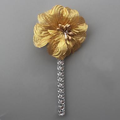 Muškarci Broševi Klasičan Sa stilom Cvijet Europska Romantični Broš Jewelry Plava Light Pink Kristalne Za Vjenčanje Party