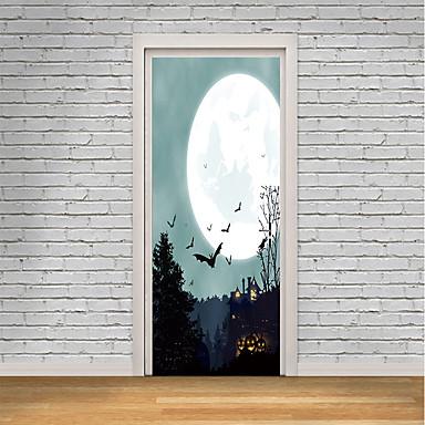 2ee2d62f571 Αυτοκόλλητα πόρτας - 3D Αυτοκόλλητα Τοίχου / Διακοπών Αυτοκόλλητα Τοίχου  Ζώα / Halloween Εσωτερικό / Παιδικό Δωμάτιο 6846797 2019 – $25.29