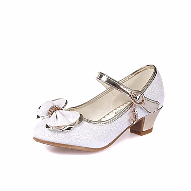 912175161546 Girls  Shoes PU(Polyurethane) Spring   Fall Flower Girl Shoes   Tiny Heels  for Teens Heels for White   Pink 6853680 2019 –  22.99