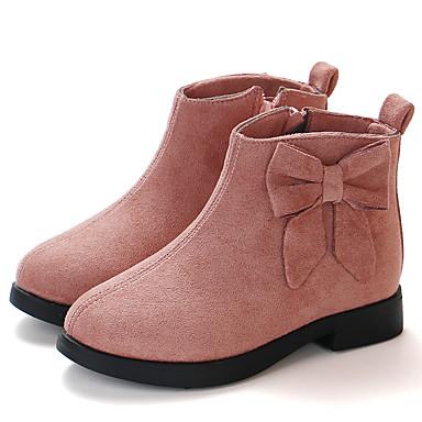 Κοριτσίστικα Μποτίνι Συνθετικά Μπότες Τα μικρά παιδιά (4-7ys) / Μεγάλα παιδιά (7 ετών +) Μαύρο / Καφέ / Μπορντώ Φθινόπωρο / Χειμώνας