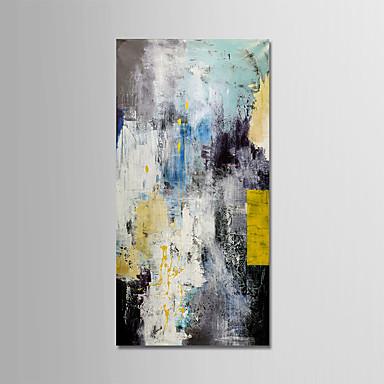 Hang målad oljemålning HANDMÅLAD - Abstrakt Moderna Utan innerram   Valsad  duk 6863422 2019 –  89.99 2abc5032bbcd2