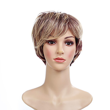 Synthetic Wig Women S Straight Blonde Short Bob Synthetic Hair 6