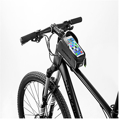 ROCKBROS Cell Phone Bag / Bike Frame Bag 6 inch Waterproof Cycling ...