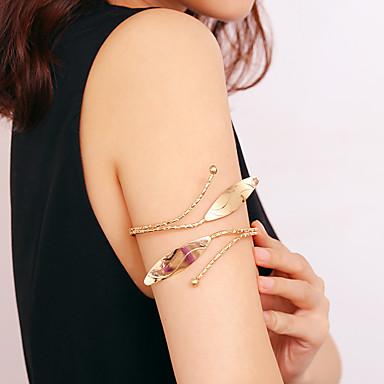 levne Dámské šperky-Dámské Tělové ozdoby 10 cm Arm Chain Zlatá / Stříbrná dámy / Klasické / Geleneksel Žehlička Kostýmní šperky Pro Bikini / Festival Letní