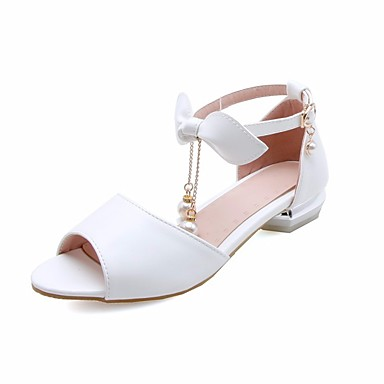 Girls Shoes Faux Leather Summer Comfort Flower Girl Shoes Sandals