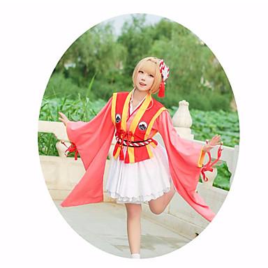 Inspirovaný Cardcaptor Sakura Kinomoto Sakura Anime Cosplay kostýmy Cosplay  šaty Hvězdy Doplňky k pasu   Doplňky do vlasů   Kostým Pro Dámské 6895797  2019 – ... ed224af391