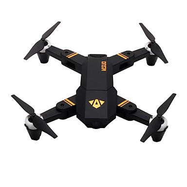 RC Drone VISUO XS809Mini RTF 4CH 6 Axis 2.4G With HD Camera 2.0MP 720P RC Quadcopter One Key To Auto-Return / Headless Mode / Access Real-Time Footage RC Quadcopter / Remote Controller / Transmmitter