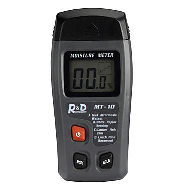 levne Testovací, měřící a kontrolní vybavení-r&d mt-10 digitální vlhkoměr / tester vlhkosti dřeva