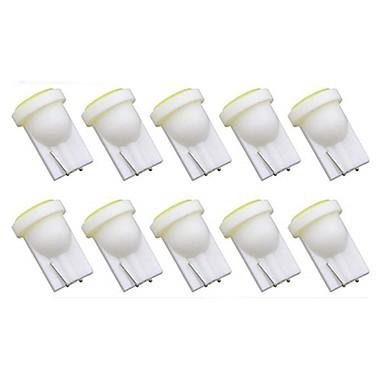 preiswerte Car Accessories-10 Stück T10 Auto Leuchtbirnen 1 W COB 50 lm 1 LED Blinkleuchte Für