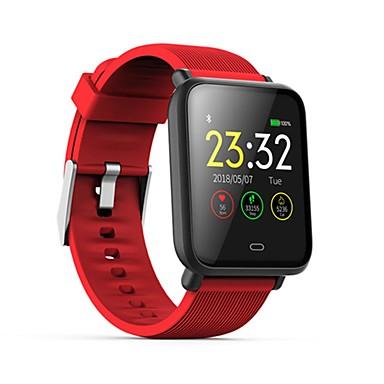 preiswerte Smart Aktivität, Clips & Armbänder-q9 wasserdichte sport smartwatch für android ios bluetooth pulsmesser blutdruckmessung touchscreen kalorien verbrannt übung aufnahme timer stoppuhr schrittzähler