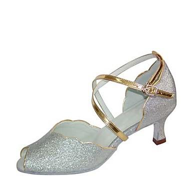 Rojo Alto de Tacón 2019 baile 6895298 Mujer Zapatos Plata Personalizables  Satén Baile Carrete Tacones de ... c6c8a10c8aef