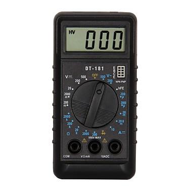 preiswerte Elektrische Instrumente-dt181 lcd handheld digital multimeter mit für zuhause und auto