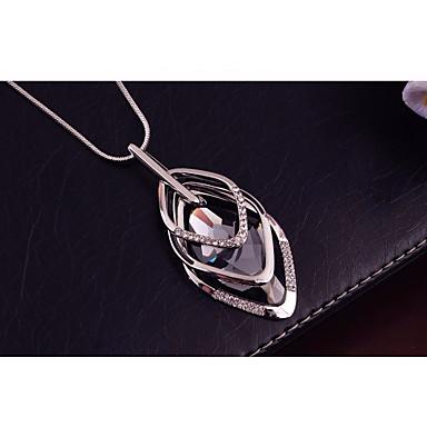 povoljno Modne ogrlice-Žene Kubični Zirconia Ogrlice s privjeskom Duga ogrlica Sa stilom Prince Of Wales Kreativan dame Stilski Mértani pomodan Smola Umjetno drago kamenje Legura Obala 70 cm Ogrlice Jewelry 1pc Za Izlasci