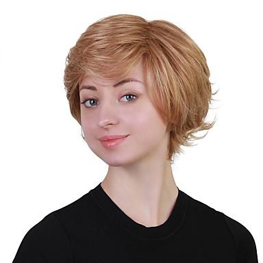 Parrucche senza cappuccio per capelli umani Cappelli veri ...
