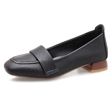 Mujer Zapatos Confort Sintéticos Primavera Zapatos de taco bajo y Slip-On Tacón  Bajo Punta cerrada Negro   Beige   Amarillo Claro 6943138 2019 –  24.99 6f19f0d99f51
