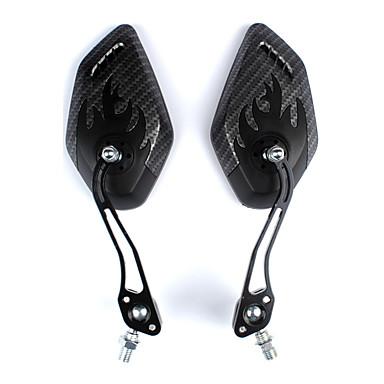 billige Sykkeltilbehør-Bakspeil Speil til sykkelstyre Lettvekt Flyvning med 360 graders flipp justerbar Fleksibel Sykling motorsykkel Sykkel Aluminum Alloy ABS Svart 2 pcs Vei Sykkel Fjellsykkel