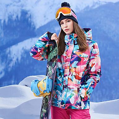 De Au Pare Gsou Snow Vent Veste Etanche Ski Garder Chaud Femme fqqwxtnaz