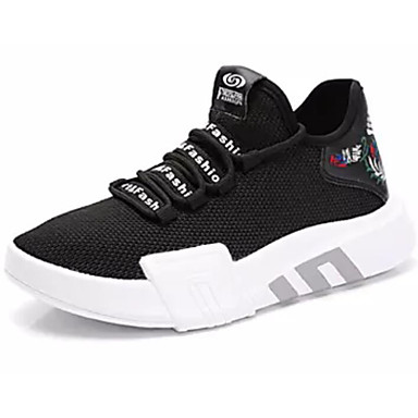 0f5a5bc5e84 Γυναικεία Παπούτσια άνεσης Δίχτυ Φθινόπωρο Αθλητικά Παπούτσια Τρέξιμο  Χαμηλό τακούνι Λευκό / Μαύρο 6922425 2019 – $34.99