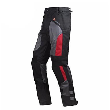 billige Motorsykkel & ATV tilbehør-riding stamme menn motorsykkel bukser motorcross riding beskyttelse anticollision brukbar vår sommer med kneepads