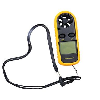 levne Testovací, měřící a kontrolní vybavení-0-30m / s digitální anemometr vítr s LCD displejem -10 ~ 45c teplotní tester anemometro hy113