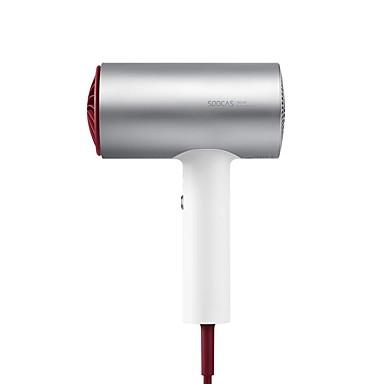 levne Péče o vlasy-originální xiaomi soocare soocas h3 anionový vysoušeč vlasů hliníková slitina tělo 1800w vývod vzduchu anti-horké inovativní odbočnost design