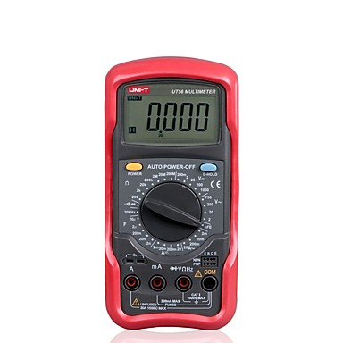 cheap Test, Measure & Inspection Equipment-UNI-T UT56 Handheld Universal Digital Multimeter Measuring Capacitance Resistor Frequency