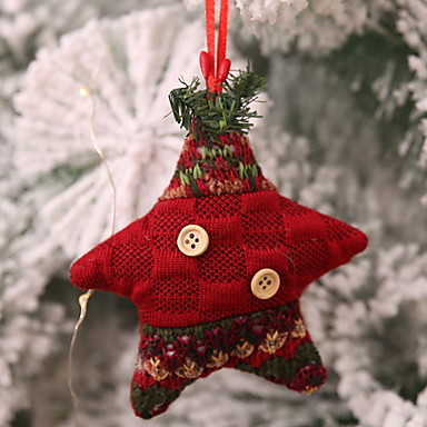 Christmas Fabric 2019.3 59 Christmas Ornaments Christmas Fabric Square Novelty Christmas Decoration