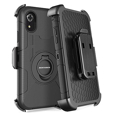 reputable site 95652 46863 [$12.99] BENTOBEN Case For Apple iPhone XR / iPhone XS Max Shockproof /  Dustproof / with Stand Full Body Cases Solid Colored / Armor Hard PC /  Silica ...