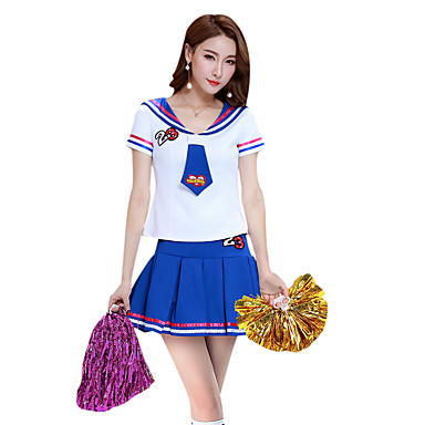 8d8418f9d Cheerleader Costumes Outfits Women s Performance Polyester Split ...