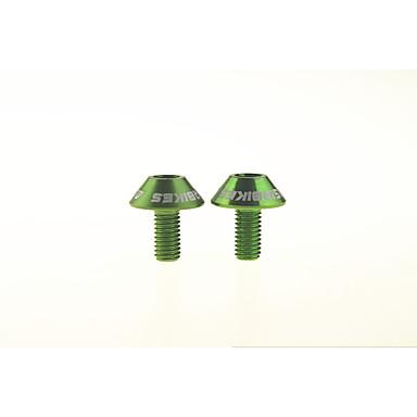 billige Sykkeltilbehør-ASIR® Sykkel Water Bottle Cage Ikke-formbar Lettvektsmateriale Holdbar Enkel å installere Til Sykling Vei Sykkel Fjellsykkel Foldesykkel Sykkel med fast gir Aluminum Alloy Rosa Lilla Mørkegrå