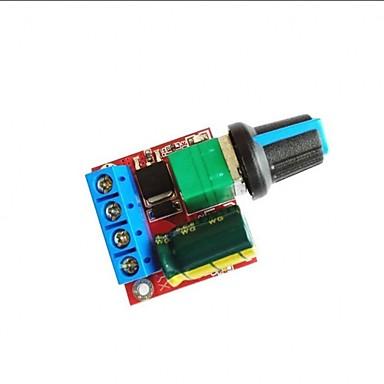 levne Elektrické vybavení-dc 5v-35v 5a 20kHz led regulátor pwm regulace otáček regulátor spínač regulace stmívač s indikátorem LED