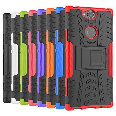Θήκη Za Sony Sony XA2 Plus / Xperia XZ2 / Xperia XZ2 Compact Otporno na trešnju / sa stalkom Stražnja maska Țiglă / Oklop Tvrdo PC