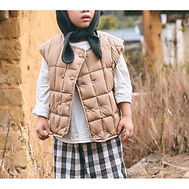 povoljno Odjeća za dječake-Djeca Dječaci Osnovni Dnevno Jednobojni Kolaž Bez rukávů Normalne dužine Pamuk Prsluk Obala