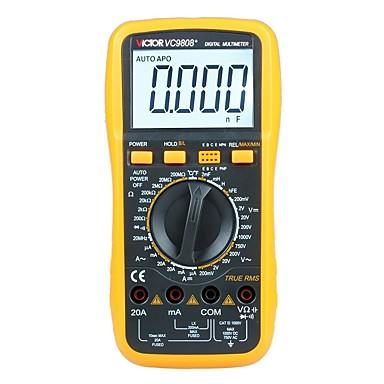 levne Testovací, měřící a kontrolní vybavení-victor vc9808 + digitální frekvenční indukční multimetr