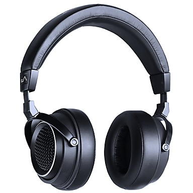 LASMEX Headband L-85 solo Wired / Audio and Video Headphones Game Controller Batteries And Chargers / Headphone Metal Shell / Alumnium Alloy / leatherette Pro Audio Earphone Stereo / Comfy Headset
