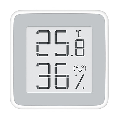 cheap Xiaomi-Xiaomi  Miaomiaoce MMC - C201 E-ink Screen Thermometer - WHITE