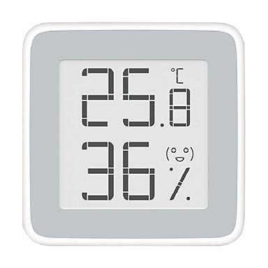رخيصةأون Xiaomi-xiaomi miaomiaoce mmc - c201 مقياس الحرارة شاشة الحبر الإلكتروني - أبيض